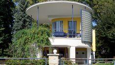 Bauhaus - Platánsor 14, Lupa-sziget Bauhaus, Hungary, Budapest, Old Photos, Travel Inspiration, Buildings, Art Deco, Mansions, House Styles