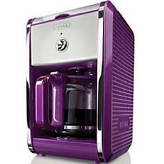 Enjoy barista-quality coffee in your home with a new coffee maker. Shop from top coffee maker brands like Keurig, Bunn, and Mr. Purple Kitchen Accessories, Kitchen Decor Items, Kitchen Stuff, Kitchen Tools, Kitchen Ideas, Kitchen Design, Purple Interior, Purple Home, All Things Purple