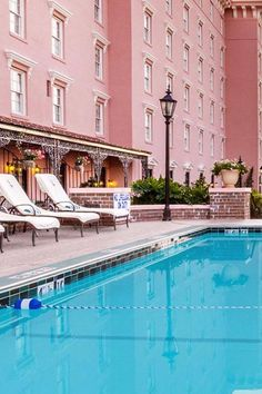 enjoy the old world charm and elegance of the hotel located on a historic estate right from the pool deck the mills house wyndham grand hotel charleston