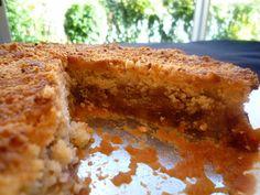 Cocinando con Lola García: Tarta de compota de manzana con cobertura crujiente