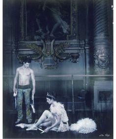 Gaspard Ulliel et Marie-Agnès Gillot par Lisa Roze