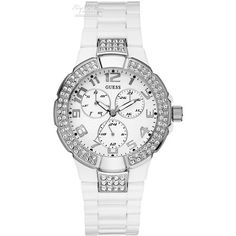 Guess Ladies Prism White Polycarbonate Case and Bracelet - W13564L1 - £125.10  http://www.nigelohara.com/guess-ladies-prism-white-polycarbonate-case-and-bracelet-w13564l1-pid16484.html  Check out our full range of Guess watches including many new models at: http://www.nigelohara.com/guess-watches/