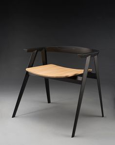 This is a limited production chair designed during my time at the School for American Crafts. Available upon commission.