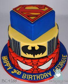 BC4288-DC-Marvel-comic-super-hero-cake-toronto-oakville | Flickr - Photo Sharing!