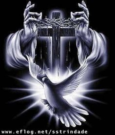 God the Father, God the Son (Jesus Christ) and God the Holy Spirit. Jesus Wallpaper, Cross Wallpaper, Wallpaper Wallpapers, Image Jesus, Praying Hands, Jesus Pictures, Cross Pictures, Jesus Pics, Heaven Pictures