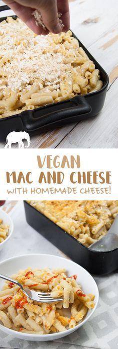 Vegan Mac and Cheese via @elephantasticv