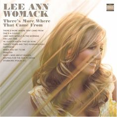 Top 20 Country Music Cheating Songs: Lee Ann Womack - 'There's More Where That Came From' Music Albums, Music Songs, Music Videos, Best Country Music, Country Music Awards, Country Artists, Country Singers, Lee Ann Womack, Lynn Anderson