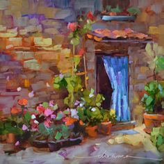 """A Little Corner of Italy""  SOLD"