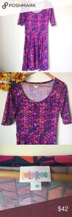 "LuLaRoe Dress Size Medium Great condition. Length 41"", Bust 18"" LuLaRoe Dresses"