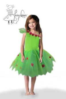 Tinkerbell green fairy costume