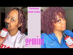 Temporary Hair Color, Twist Outs, Nature, Naturaleza, Nature Illustration, Off Grid, Box Braids, Curly Hair, Natural