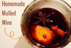 Homemade Mulled Wine Recipe - Dutchess Roz
