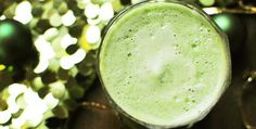 Elf Juice  Ingredients: 2 heads of broccoli 4 cups spinach, chard, or kale (or mixture) 1 green bell pepper 2 granny smith apples 1 lime, peeled  Directions: 1.) Chop everything into large chunks that will fit into the juicer's chute.  2.) Juice all ingredients.  3.) Serve in small 8 ounce glasses.