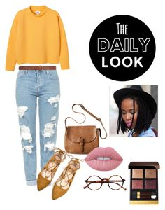 """The Daily Look!"" by faux-unicorn on Polyvore featuring Monki, Topshop, Retrò, Dorothy Perkins, Toast, Lime Crime and Tom Ford"