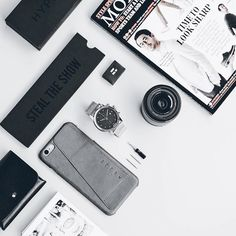 Minimalism  - by @alexetiawan_ - Leather Wallet Case for iPhone 6s Plus available on mujjo.com or through resellers worldwide. #mujjo