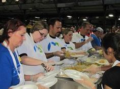 CA Technologies employees have been supporting Feast of Sharing as part of our annual employee volunteer program Together in Action for the last five years.  Thanks for the article @Robin D. Everson !