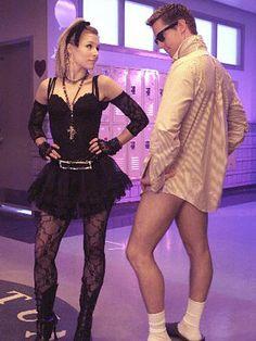 Veronica Mars. 80's Dance. Hey Logan, nice legs.