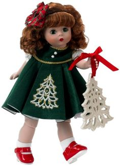 Madam Alexander Christmas Ornament