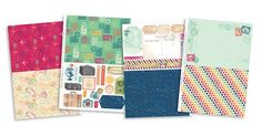 FREE Globe Trotting patterned papers - Papercraft Inspirations