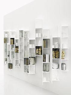Tall bathroom cabinet CTLINE by Boffi | design Victor Vasilev