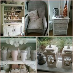 This is the style that I like so much. All my furniture has been restyled with chalk paint, also seats.