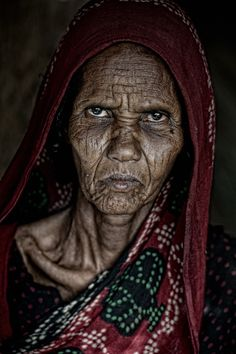for every wrinkle there is a story... Old lady, woman, female, powerful, portrait, aged, wrinkles, intense eyes, face, beauty, photograph, photo