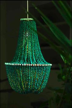 I have this old chandelier in my house that I removed when we bought it that I WANT to do this too!