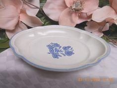 & 6 pfaltzgraff yorktowne luncheon plates | Stoneware