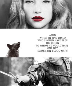 """Aelin&Aedion    """"When she came back, he was never letting her go."""