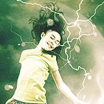 Use custom brushes in Photoshop to create energy and light effects