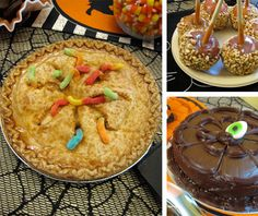 Halloween food, games, decoration ideas