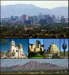 Phoenix is the largest capital city in the United States and the only state capital with over 1,000,000 people.