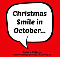 Rosie's Cottage: Christmas Smiles In October: Cosmetic & Beauty Adv...