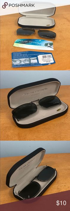d78587ad77 Polar Optics 💝 Polarized ClipOns With Case Polar Optics 💝 Polarized  ClipOns With Case Retail  15