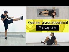 Marcar la v con ejercicios abdominales inferiores - YouTube