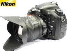Câmera Nikon D7000 - 16MP -  Video Full HD - Acompanha Kit de Lente e acessórios originais. Produto usado, em perfeito estado! Quer saber mais, visite o nosso site!