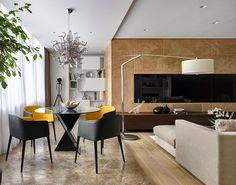 Decoração Inside and Out: Moscow Apartment by Alexandra Fedorova