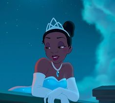 This Is The One Thing You Never Noticed About Princess Tiana; Also I will not be satisfied with having a black princess until she does more than cook and has her hair down (they pinned it back because they didn't bother to figure out how to draw it) Disney Gifs, Disney Icons, Disney Cartoons, Disney Art, Disney Movie Scenes, Disney Videos, Black Cartoon, Cartoon Icons, Vintage Cartoon