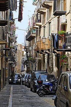 Casco antiguo de Cefalu Sicilia Sicilia Italia Italia