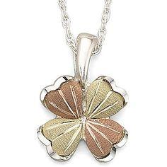 Black Hills Gold® Cloverleaf Pendant - jcpenney