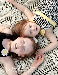 Little girls sisters photography