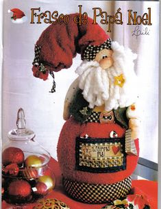 Album Archive - Muñequeria Country No. Christmas Sewing, Christmas Crafts, Christmas Decorations, Xmas, Christmas Ornaments, Book Crafts, Diy Crafts, Craft Books, Craft Projects