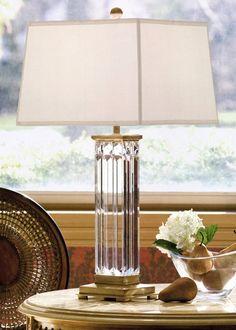 table lamp - crystal table lamp - cut crystal table lamp - #lamp #crystal #crystallamp