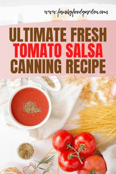 Canning salsa is a great way to use up the summer bounty of tomatoes. Sharing the best salsa recipes for canning with fresh tomatoes! Unfold the recipe on this pin! The Best Salsa Recipe For Canning, Salsa Canning Recipes, Canning Salsa, Beef Recipes, Cooking Recipes, Tomato Salsa Recipe, Fresh Tomato Salsa, Thing 1, Healthy Fruits