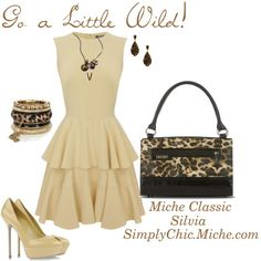 """Go a Little Wild!"" by miche-kat on Polyvore http://www.simplychicforyou.com/"