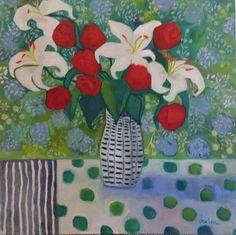 White Lilies by Annie O\'Brien Gonzales