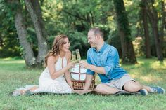 Picnic Engagement Shoot! Jessica Cooper Photography