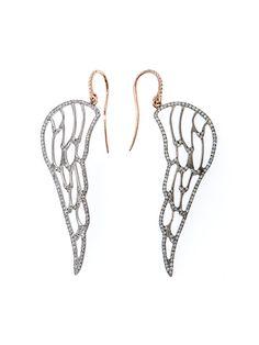 Ileana Makri angel earrings.