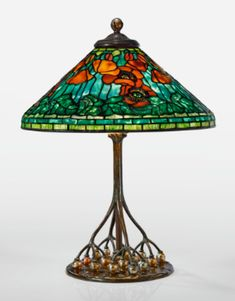 """Reproduction Iridescent Glass Light Shade 3 7//8/"""" Fitter End"""