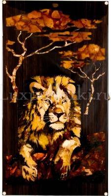 Нарды из янтаря «Лев»- 0